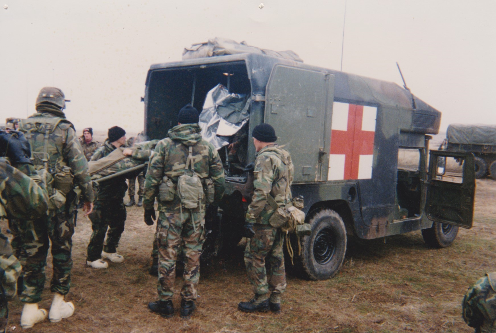 Loading Patient during exercise in Romania 